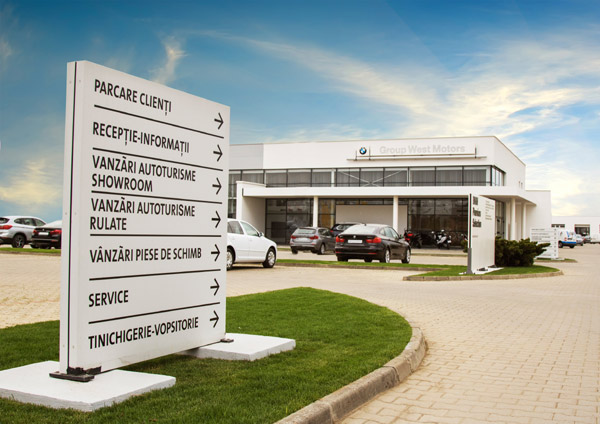BMW Dealer Group West Motors, Satu Mare, Romania