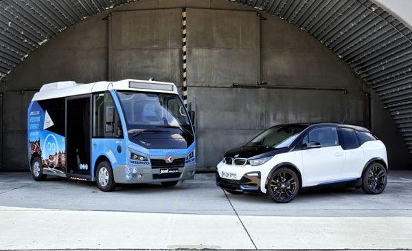 BMW i evoluează mobilitatea electrică şi în transportul public local