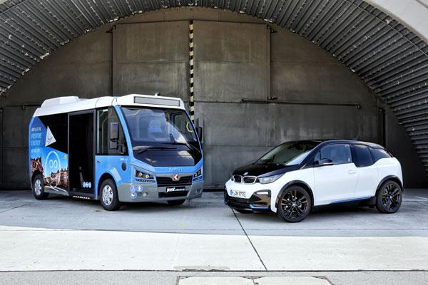 BMW i evolueaza mobilitatea electrica si in transportul public local