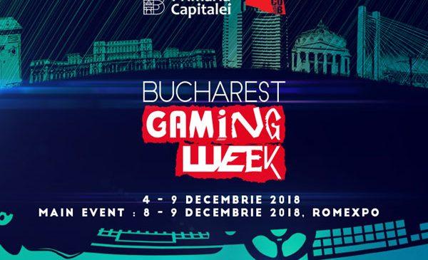 A doua ediție a Bucharest Gaming Week va avea loc în perioada 4–9 decembrie