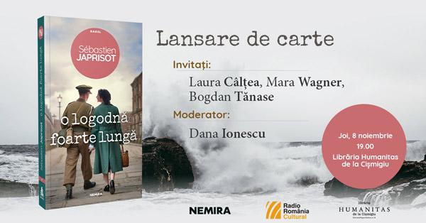 """Lansarea romanului """"O logodnă foarte lungă"""", de Sébastien Japrisot"""