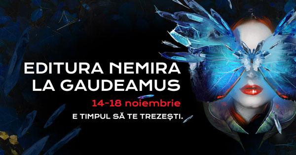 Editurile Nemira și Nemi la Gaudeamus 2018 – noutățile editoriale