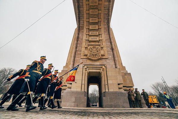 Parada militara la TVR