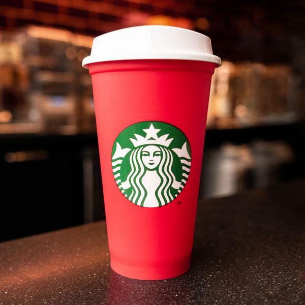 Starbucks Pahar Reutilizabil de Sarbatori