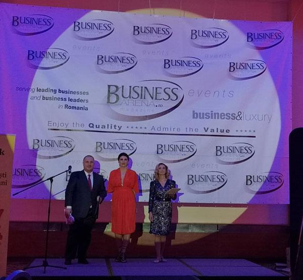Ugur Yesil, Kanal D, Televiziunea Anului, Premiile Business Arena pentru Excelenta