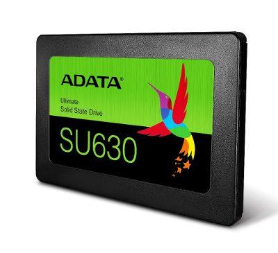 ADATA lansează SSD-ul 3D QLC NAND Ultimate SU630