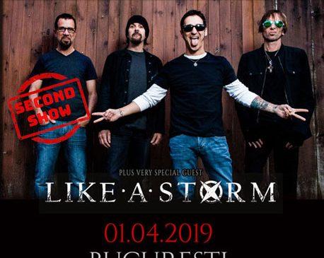 GODSMACK in concert la Bucuresti si pe 1 aprilie