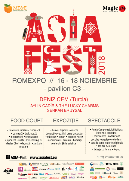 Asia Fest 16-18 nov