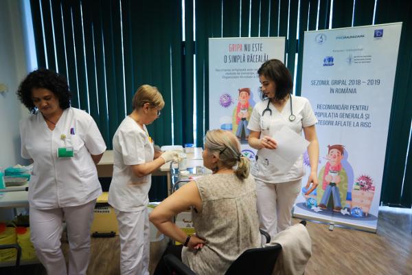 cabinet vaccinare antigripala