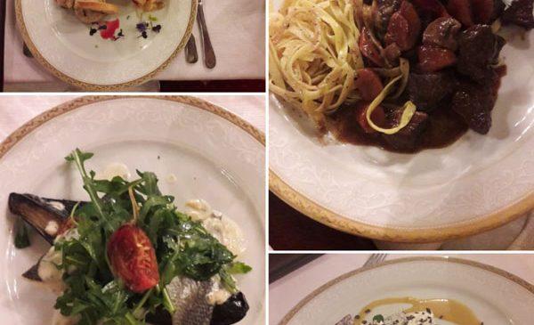 TV Paprika și-a invitat prietenii la o cină la Palat