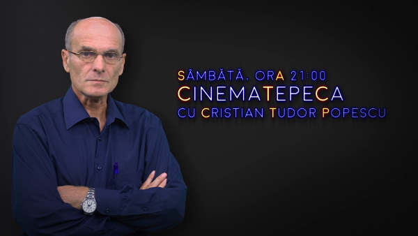 Cristian Tudor Popescu prezintă CinemaTePeca la Digi24 din 1 decembrie 2018
