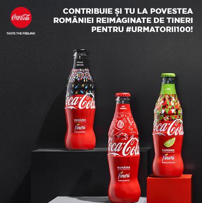 Coca-Cola - România reimaginată de tineri – o poveste comună pentru #următorii100 de ani.