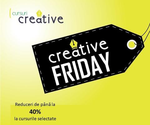 Creative Friday cursuri creative