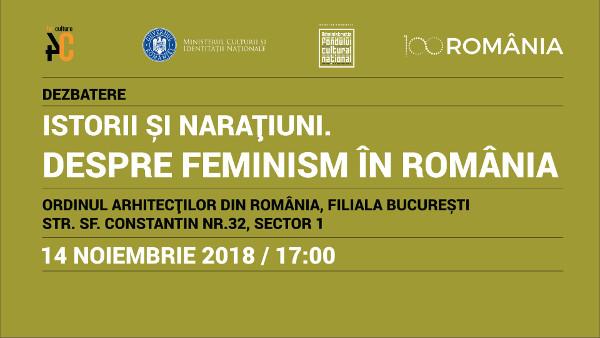 storii și narațiuni. Despre feminism în România