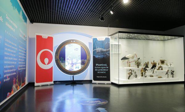 """Veolia România susține lupta împotriva plasticului printr-o dioramă multimedia expusă la Muzeul Național de Istorie Naturală ,,Grigore Antipa"""""""