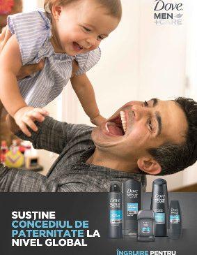 Dove Men+Care lansează campania Dragi Viitori Tați prin care susține concediul paternal