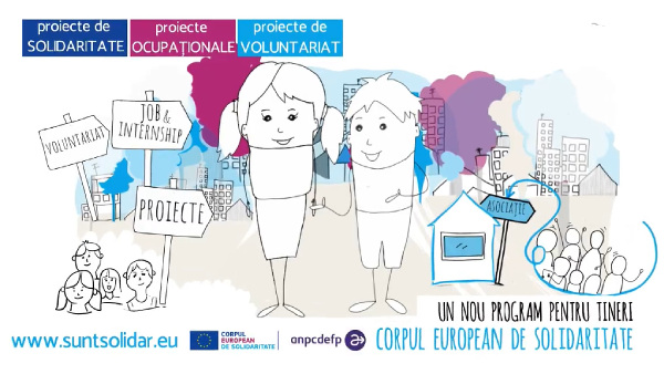 Corpul European de Solidaritate (ESC - European Solidarity Corps)
