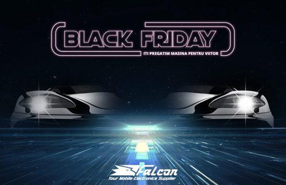 De Black Friday, Falcon Electronics reduce cu până la 91% prețurile la electronice auto, drone și gadget-uri