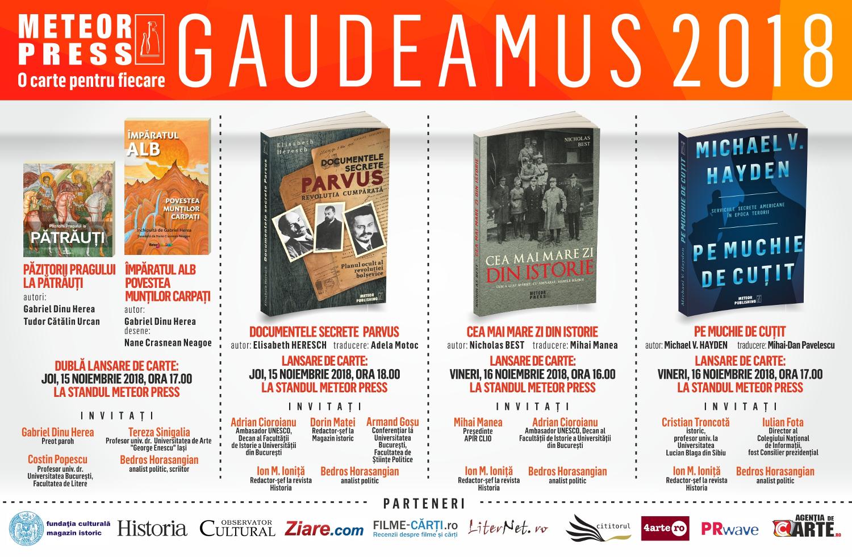 Editura Meteor Press Gaudeamus 2018