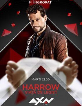 """Thrillerul procedural """"Harrow – Viață de legist"""" (Harrow) are premiera la AXN, pe 6 noiembrie"""