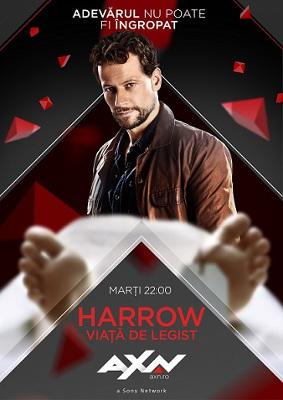 Harrow – Viață de legist
