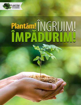 Ne întoarcem la Lețcani pentru noi acțiuni de împădurire