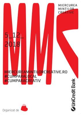 Miercurea Minților Creative – primul eveniment de cumpărături dedicat afacerilor creative românești