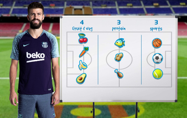 Beko și FC Barcelona - Pique