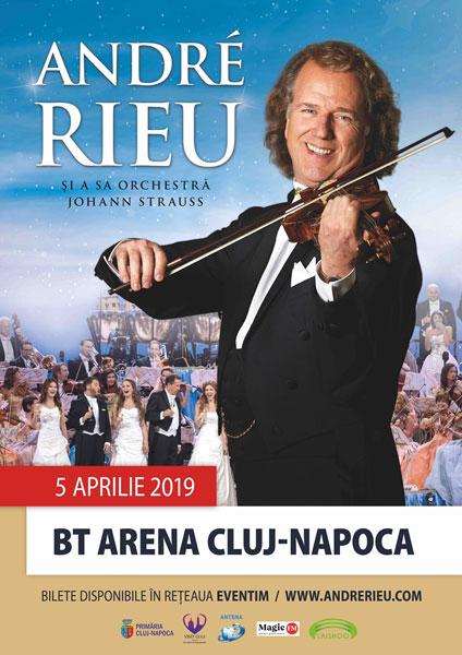 poster Andre Rieu, Cluj-Napoca