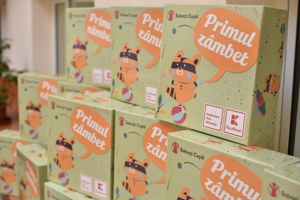 Kaufland România Organizația Salvați Copiii Primul Zâmbet