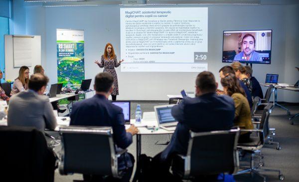 """10 proiecte care schimbă România prin tehnologie primesc finanțări OMV Petrom de 400 000 de euro în cadrul competiției """"RO SMART în Țara lui Andrei"""""""