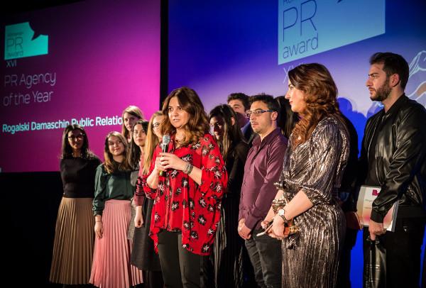 "Rogalski Damaschin Public Relations este ""PR Agency of the Year"""