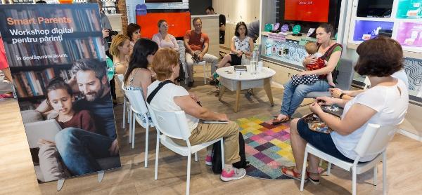 ateliere Smart Parents orange