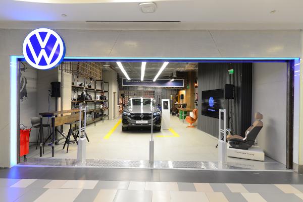 Noul Volkswagen Touareg concept-store-ul din Plaza România