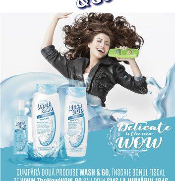 Obține un păr WOW cu balsamul leave-in Wash&Go Ultra Delicate cu Ulei Micelar