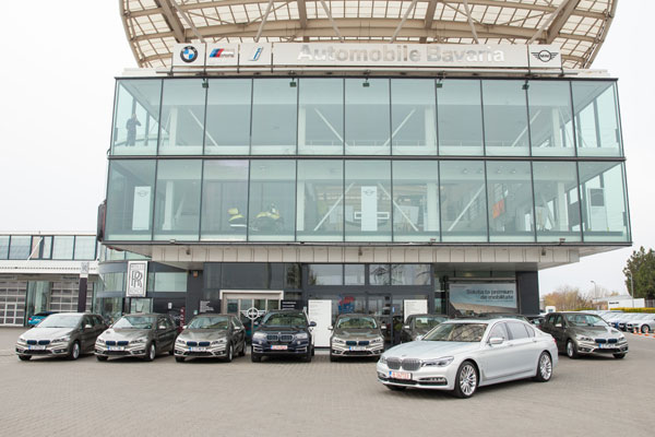 Biggest BMW iPerformance fleet in Romania