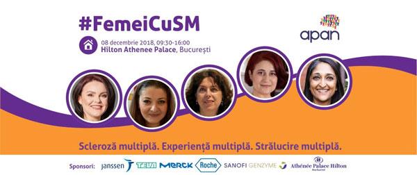 #FemeiCuSM: 'Scleroză multiplă. Experiență multiplă. Strălucire multiplă.'