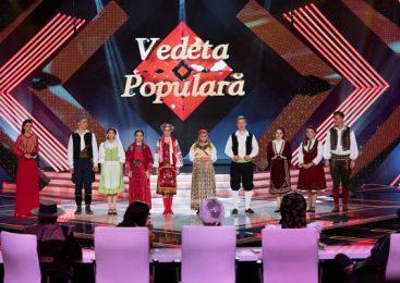 Iuliana Tudor prezintă semifinala Vedeta populară la TVR 1