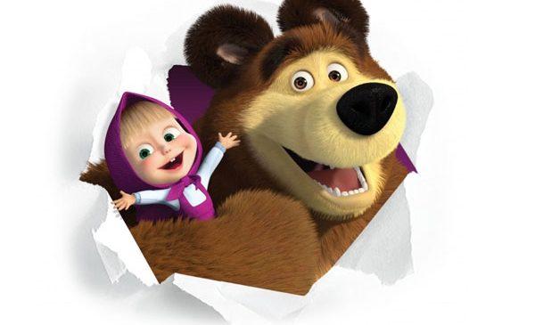 """Masha și ursul"", premiera iernii la Minimax"