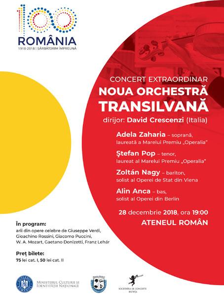 Poster Ateneu Noua Orchestra Transilvana