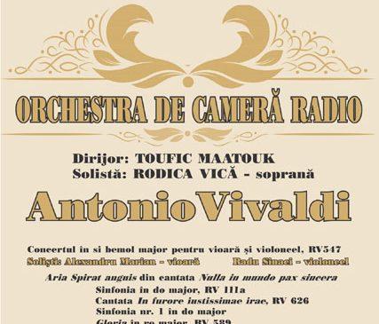 """""""GLORIA"""" de Vivaldi, la Sala Radio"""