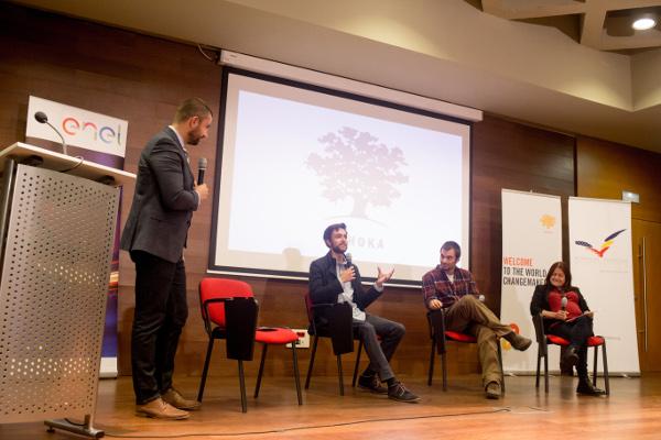 Ashoka Localizer - Martin Garcia, Antonio Bello și Albina Ruiz