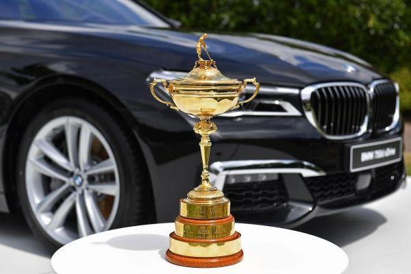 BMW partener Ryder Cup
