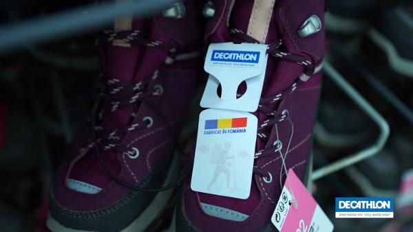 Produse Decathlon marcă proprie, fabricate în România