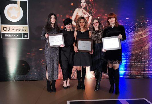 One United Properties este cea mai premiată companie la CIJ Awards 2018