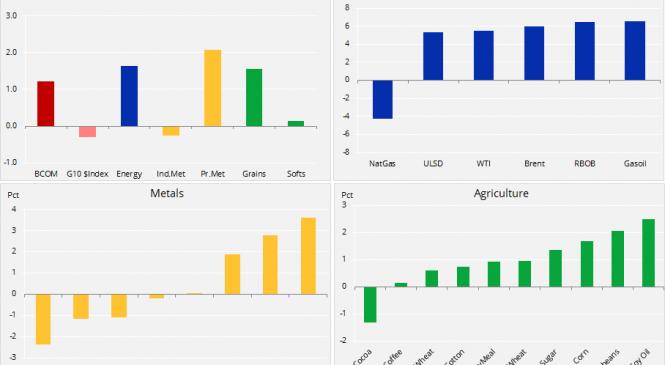 Petrolul se redresează datorită reducerii producției OPEC+, prețul aurului crește