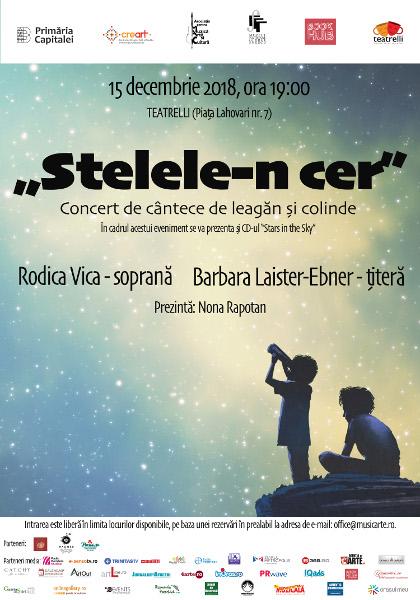 STELELE-N CER. Concert de cântece de leagăn și colinde