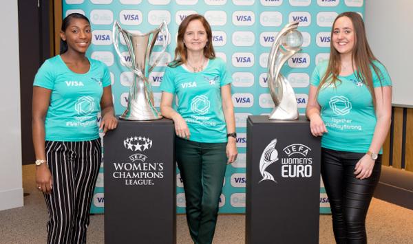 Visa semnează în premieră un acord cu UEFA pentru a susţine fotbalul feminin