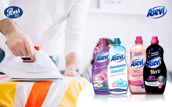 Asevi, balsam versus detergent