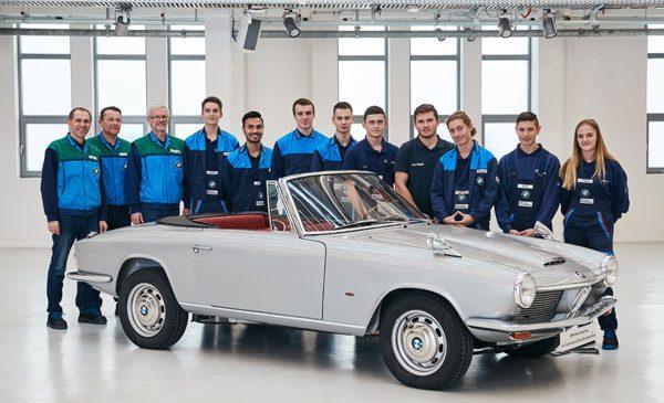 Renaştere la Dingolfing: cabrioletul BMW 1600 GT